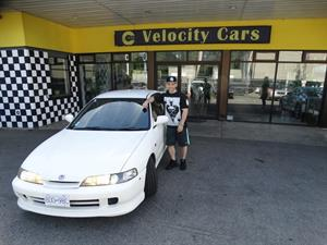 JDM Honda Integra Type R Has Just Gone To Another Happy Customer!  Congratulations And Have A Good Ride On Canadian Roads! Enjoy Your Unique  Honda.
